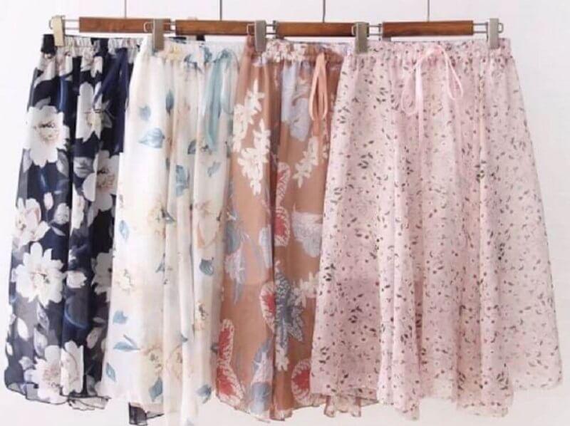 Hướng Dẫn Cách May Chân Váy Voan Cho Dân Công Sở
