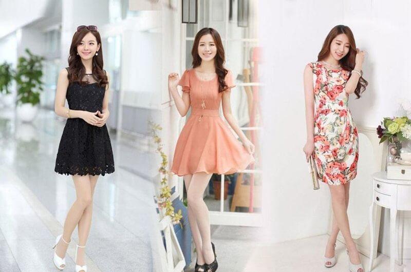 Top 9 Mẫu Váy Xòe Liên Thân Đẹp Đang Hot Nhất