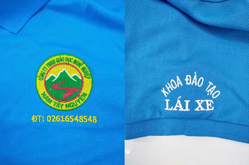 May Đồng Phục Áo Thun Cho Công Ty Gd Nghề Nghiệp Nam Tây Nguyên Tại Đắk Nông Chất Lượng Cao