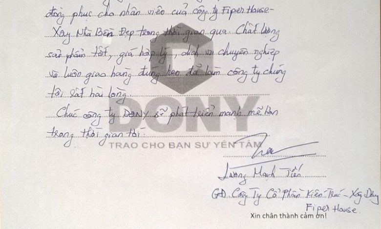 Ông Lương Mạnh Tiến Và Ms. Phạm Thị Yến Nhi Nói Gì Về Dony