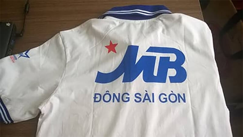 May Áo Thun Đồng Phục Cho Mb Bank Chi Nhánh Đông Sài Gòn