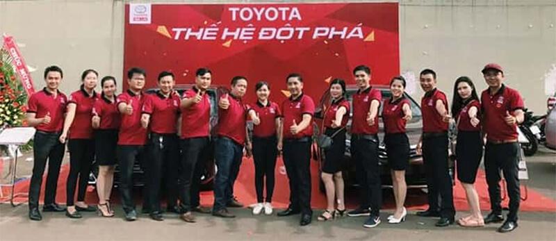 May Áo Thun Đồng Phục Cho Toyota Ở Gia Lai Bền, Đẹp