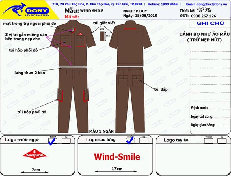 May Đồ Bảo Hộ Lao Động Công Ty Wind-Smile Ở Quận 1