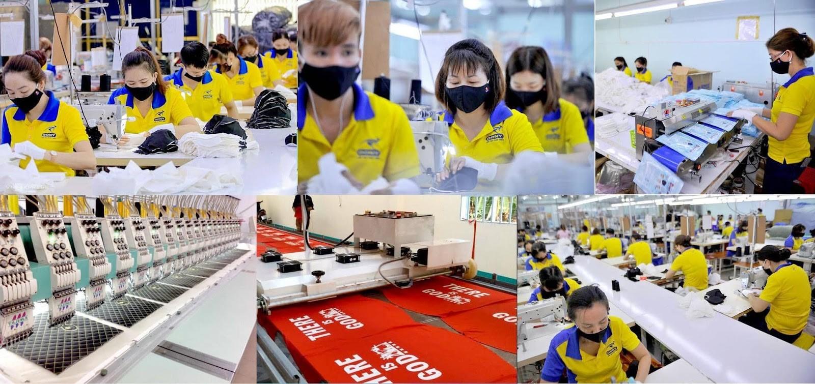 Xưởng May Dony - Xưởng May Gia Mũ Nón Thời Trang Đẹp, Chất Lượng, Giá Cả Cạnh Tranh
