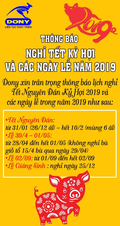 Lịch Nghỉ Tết Nguyên Đán Và Các Ngày Lễ Lớn Năn 2019