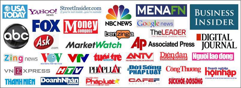 Các kênh truyền thông nói về thương hiệu Dony