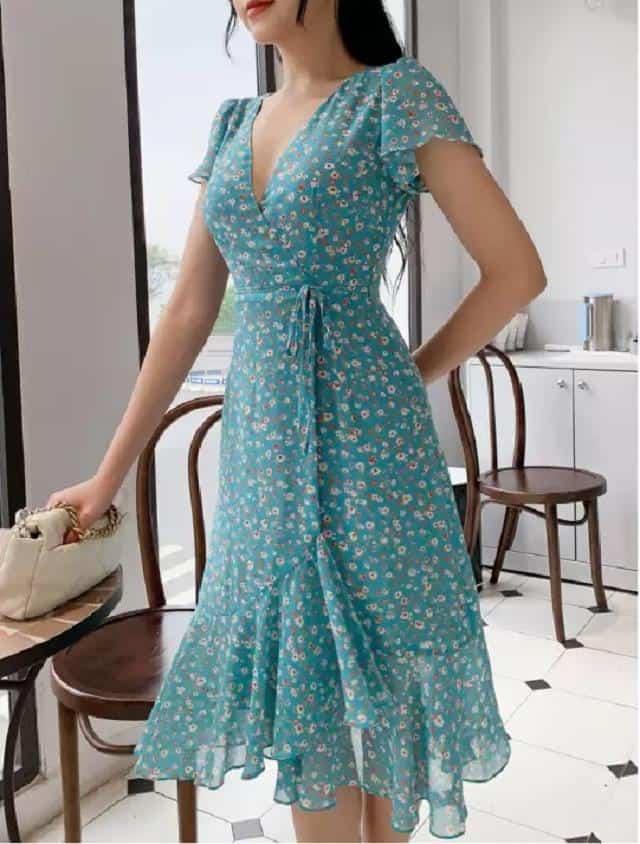 Váy Quấn Vạt Bèo