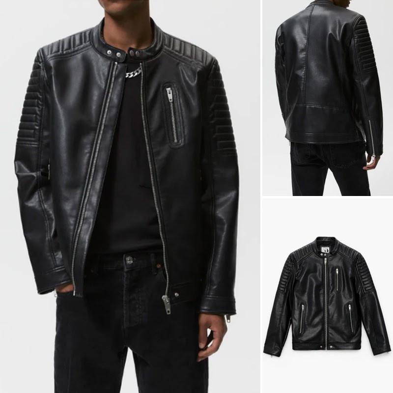Áo Khoác Da Biker Jacket