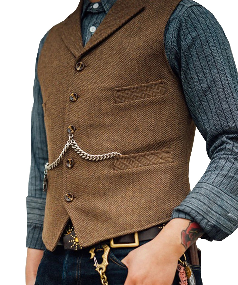 Áo Suit, Vest Nam Cài Dây