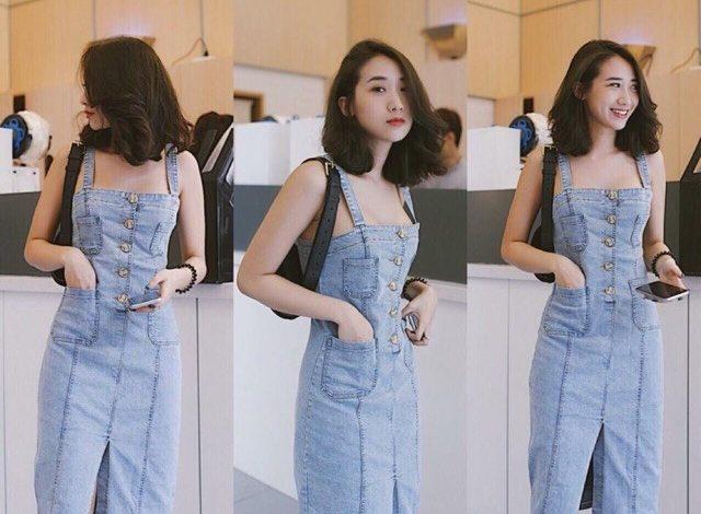 Đầm Jeans Nữ Đẹp, Bán Chạy Nhất Hiện Nay